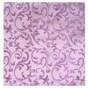 Lilac Swirl Leaf Wedding Pocket Square #AB-TPH1000/8
