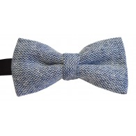 Blue Tweed Bow Tie #BWW108/3