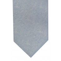 Light Blue Textured Tie with Matching Pocket Square
