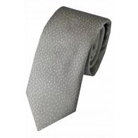 Silver Slot Repeat Tie #F1616/2