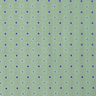 Green and Navy Dot Pocket Hankie #ROBH005/4