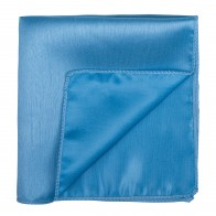 Baby Blue Shantung Pocket Square #AB-TPH1005/5