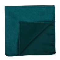Bottle Green Suede Pocket Square #AB-TPH1006/16