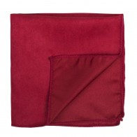 Ruby Red Suede Pocket Square #AB-TPH1006/13