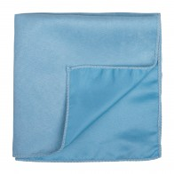 Dream Blue Suede Pocket Square #AB-TPH1006/7