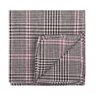 Brown Check Pocket Square #AB-TPH1007/4