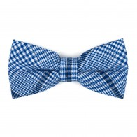 Regatta Blue Check Bow Tie #AB-BB1007/2