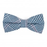 Dutch Blue Check Bow Tie #AB-BB1007/5