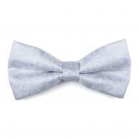 Glacier Grey Floral Bow Tie #AB-BB1012/1
