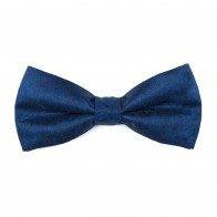 Twilight Blue Floral Bow Tie #AB-BB1012/9