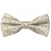 Sage Green Royal Swirl Wedding Bow Tie #AB-BB1001/4