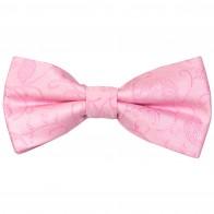 Pink Budding Paisley Wedding Bow Tie #AB-BB1003/2