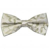 Emerald Green Vintage Vine Wedding Bow Tie #AB-BB1004/6