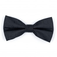 Black on Black Budding Paisley Bow Tie #AB-BB1003/4
