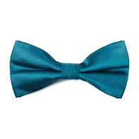 Deep Teal Shantung Bow Tie #AB-BB1005/14