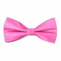 Hot Pink Shantung Bow Tie #AB-BB1005/17