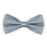 Silver Pumice Stone Bow Tie #AB-BB1009/20