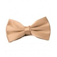 Bronze Satin Bow Tie #BB1848/4