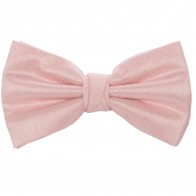 Pink Shantung Wedding Bow Tie #BB1866/3