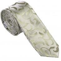 Emerald Green Vintage Vine Slim Wedding Tie #AB-C1004/6