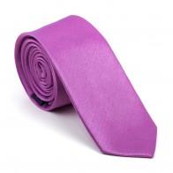Sheer Lilac Shantung Slim Tie #AB-C1005/10