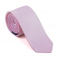 Petal Pink Shantung Slim Tie #AB-C1005/13