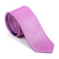 Dusky Pink Shantung Slim Tie #AB-C1005/18