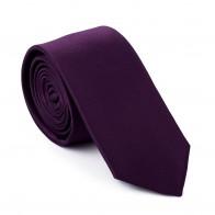 Purple Rhododendron Slim Tie #AB-C1009/15