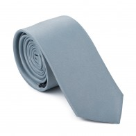 Silver Pumice Stone Slim Tie #AB-C1009/20