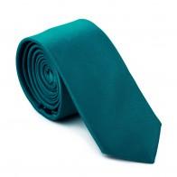 Teal Fanfare Slim Tie #AB-C1009/28