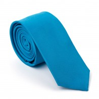 Teal Capri Slim Tie #AB-C1009/38