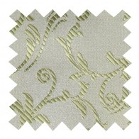 Emerald Green Swirl Leaf Swatch #AB-SWA1000/12