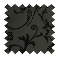 Black on Black Swirl Leaf Swatch #AB-SWA1000/3