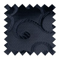 Black on Black Royal Swirl Swatch #AB-SWA1001/8