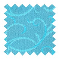 Turquoise Modern Scroll Swatch #AB-SWA1002/2
