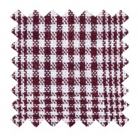 Burgundy Check Swatch #AB-SWA1007/3
