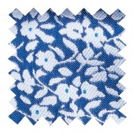 Navy Blue Ditsy Floral Swatch #AB-SWA1013/4