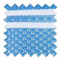 Baby Blue Pastel Stripe Swatch #AB-SWA1016/1