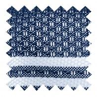 Navy Blue Pastel Stripe Swatch #AB-SWA1016/3