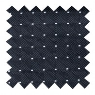 Black Fine Polka Dot Swatch #AB-SWA1017/1