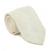 Cream Budding Paisley Tie #AB-T1003/9