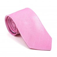 Candy Pink Shantung Tie #AB-T1005/16