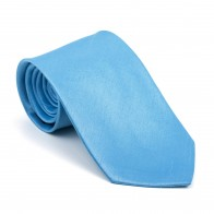 Baby Blue Shantung Tie #AB-T1005/5