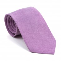 Dusky Orchid Suede Tie #AB-T1006/3