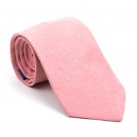 Coral Almond Suede Tie #AB-T1006/8