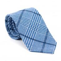 Regatta Blue Check Tie #AB-T1007/2