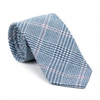 Dutch Blue Check Tie #AB-T1007/5