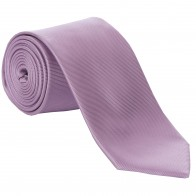 Lilac Fine Twill Tie with Matching Pocket Square