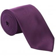 Slim Satin Purple Tie #C1847/6