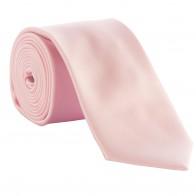 Pink Satin Tie #T1849/4